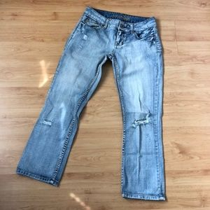 American Eagle Disrtressed Jeans